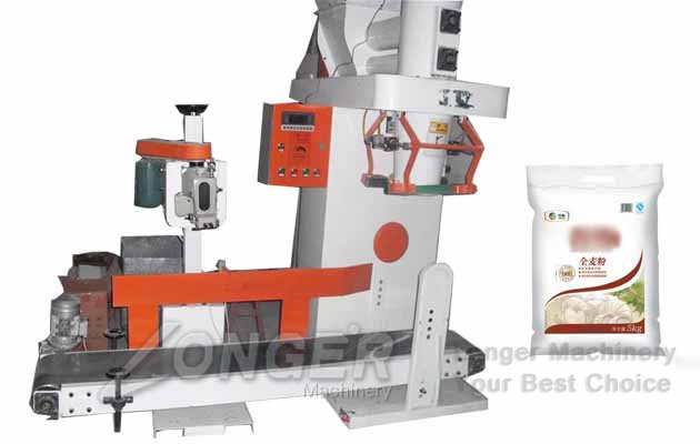 starch flour packing machine