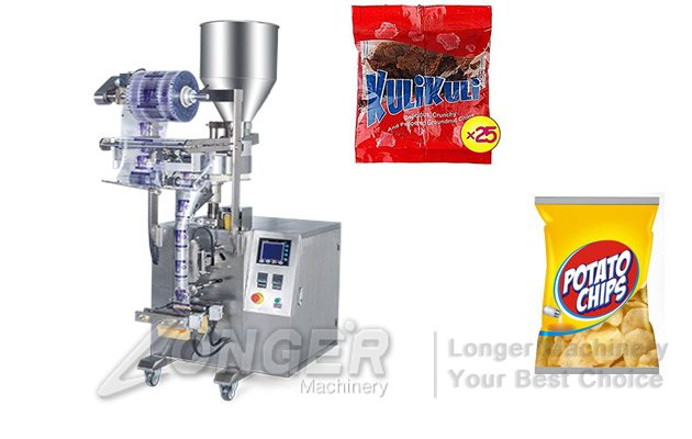 Automatic Kuli Kuli Packing Machine|Granules Dal Packing Machine
