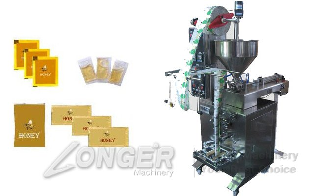 honey sachet filling machine