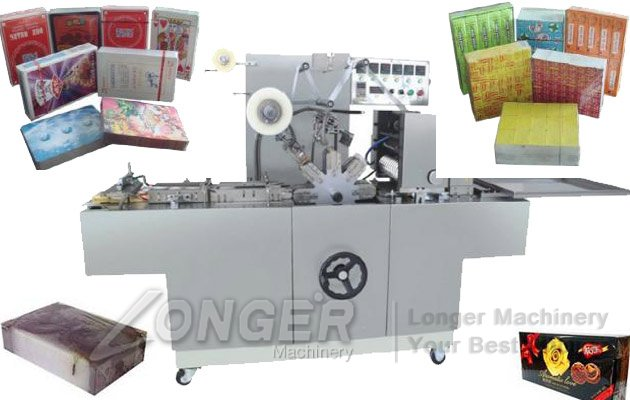 CD Cellophane Wrapping Machine|DVD VCD Poker Box Overwrapper Machine