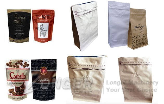 Customizable Coffee Bag With Valve|Granules Pouches Doypack Packaging Bags
