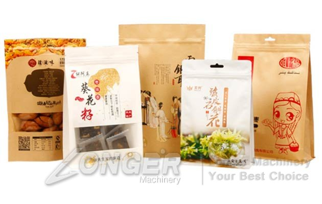 HD Perspective Food Packaging Bags|Food Packaging Bag With Window