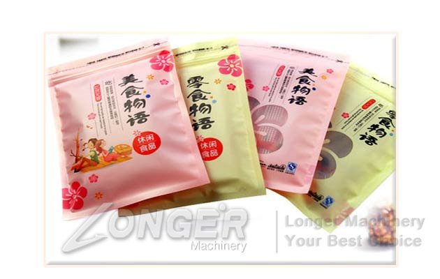 Customizable High Quality Food Plastic Bags