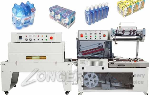 Box Shrink Packaging Machine|Commercial Drinking Bottle Shrink Machine