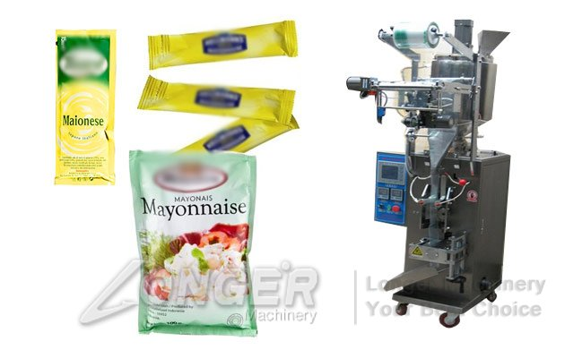 Sauce Sachet Filling Machine|Mayonnaise Bean Paste Packaging Machine