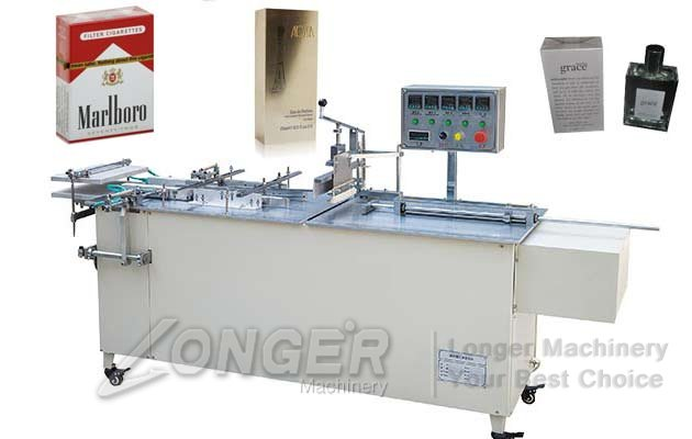 LGBTB-II Semi-automatic Box Cellophane Packing Machine|Manual Cellophane Over Wrapping Machine