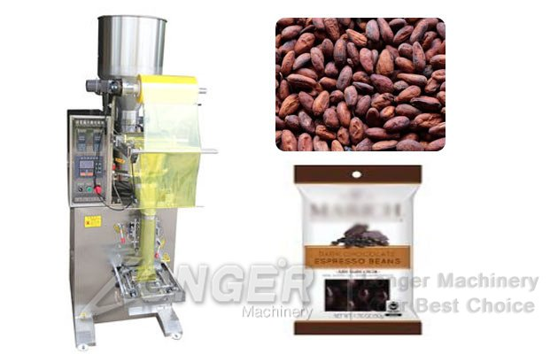 Cocoa Coffee Beans Packaging Machine|Granules Pouch Packing Machine LG-LK350