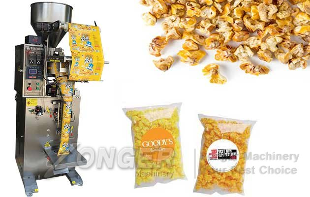 Granules Nuts Grains Filling Machine|Popcorn Dates Packaging Machine LG-LK480