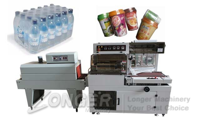 Automatic Shrink Wrapping Machine For Liquid Bottles Price