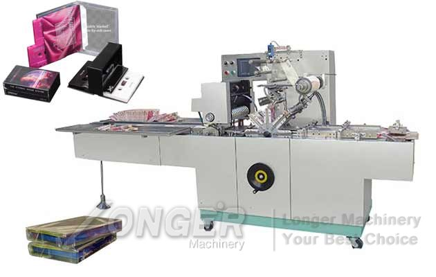 Cassette Case Wrapping Machine|Audio Cassette Cellophane Packing Equipment