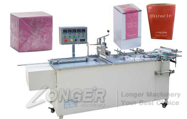 Manual Wrapping Perfume Box Machine|Semi-automatic Cellophane Wrapping Equipment LGB-A