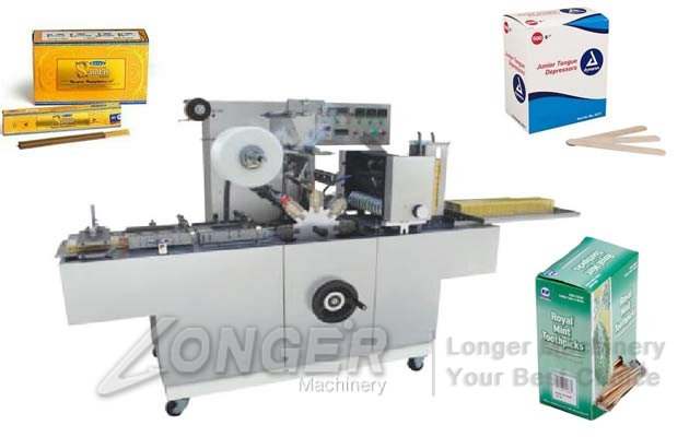 LGBTB-350 Agarbatti Box Overwrapping Machine|Toothpick Box Packaging Machine