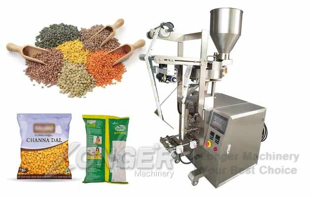 Namkeen Snacks Packaging Machine Price|Dal Granules Filling Machine