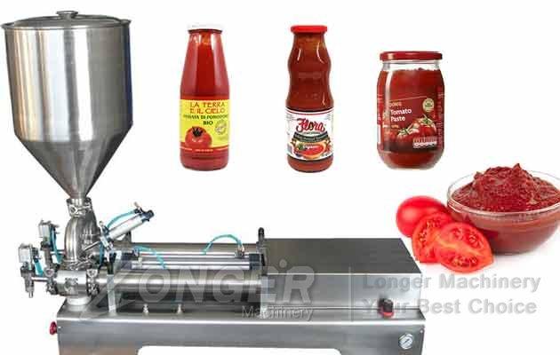 Horizontal Multi-purpose Liquid|Paste Filling Machine
