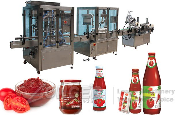 Automatic Liquid Paste Bottle Filling Line|Water Bottle Filling Capping Labeling Machine