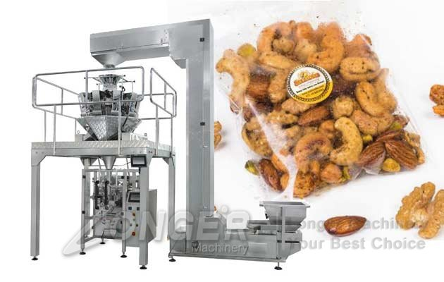 Automatic Granule Packaging Line|Chips Snacks Packing Solution