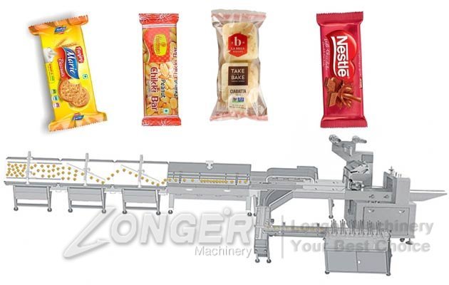 Automatic Biscuit Horizontal Flow Packaging Plant