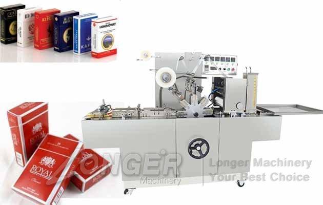Automatic Cigarette Box Cellophane Wrapping Machine
