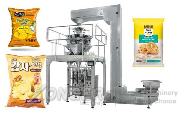 Automated Plantain Banana Chips Packaging Machine For Sale