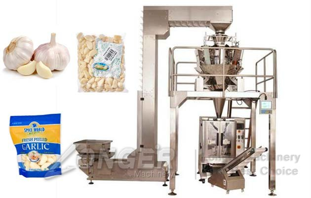 Automatic Garlic Clove Packaging Line|Garlic Granule Packing Machine