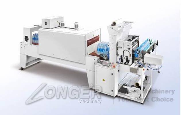 Automatic Shrink Wrapping Machine For Milk Bottle Yogurt Box