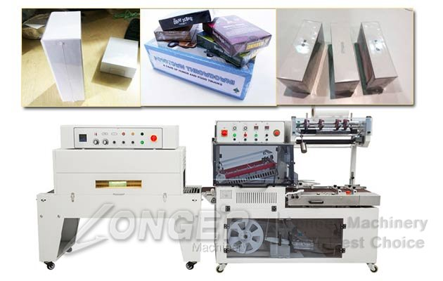 Phone Box Shrink Packaging Machine|Bottles Shrink Wrapping Machine