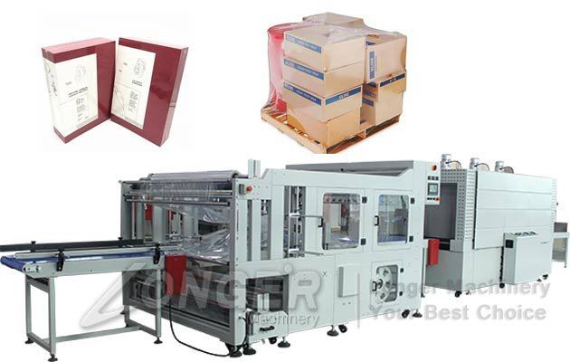Carton Box Automatic Heat Shrink Packing Machine Price