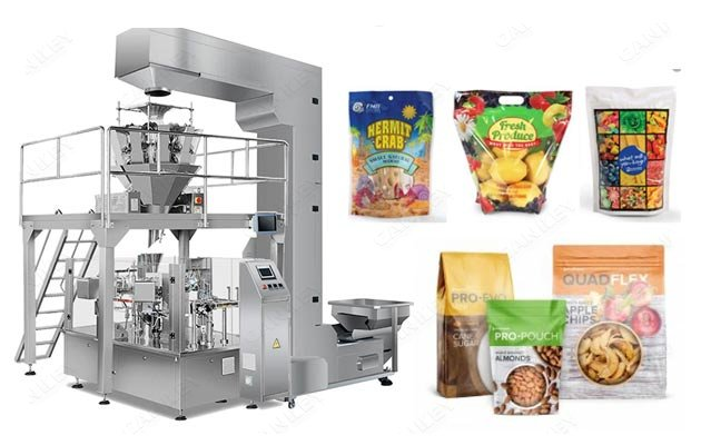 Premade Pouch Packaging Machine For Snacks Price