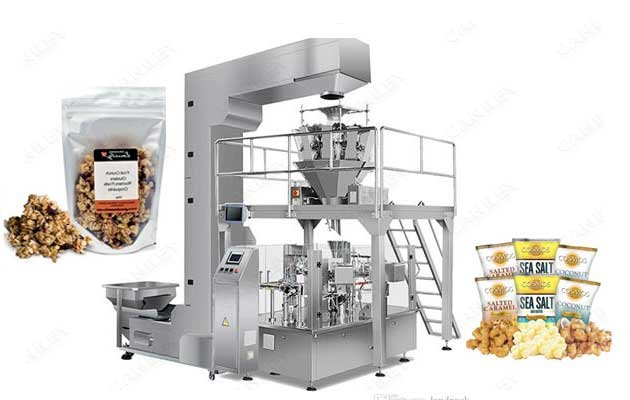 New Automatic Puffed Rice Packaging Plant Price