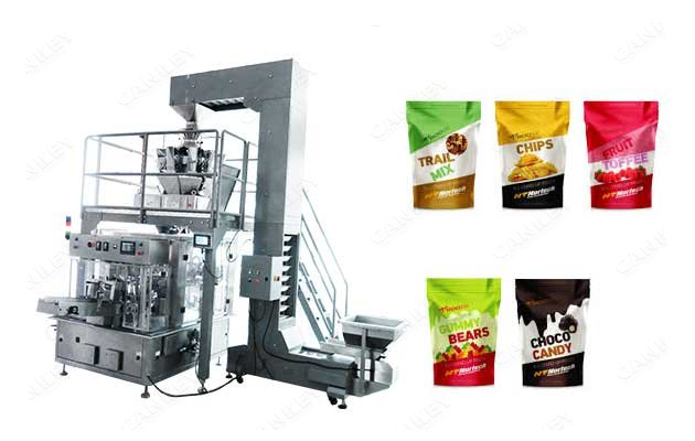Multi-purpose Peanut Cashew Nuts Pouch Filling Sealing Machine