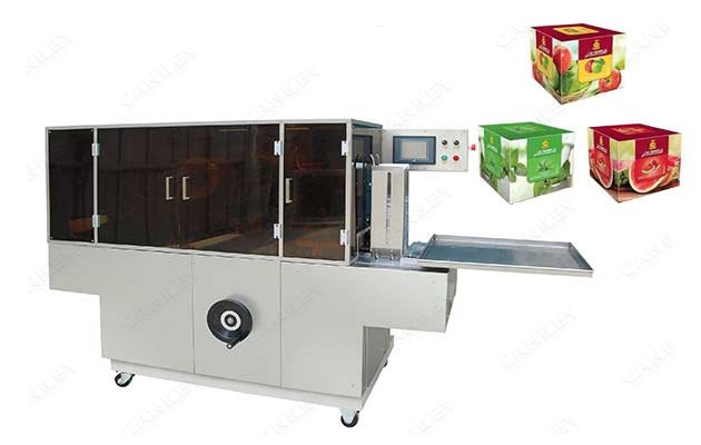 Shisha Box Hookah Tobacco Box Over Wrapping Machine Price