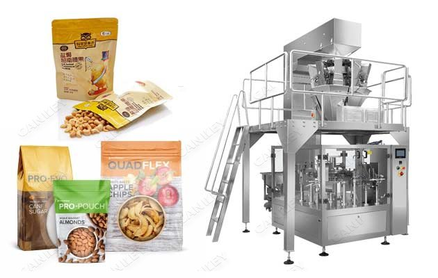 Potato Banana Chips Automatic Pouch Packaging Machine