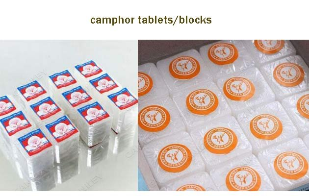 camphor tablet packing machine