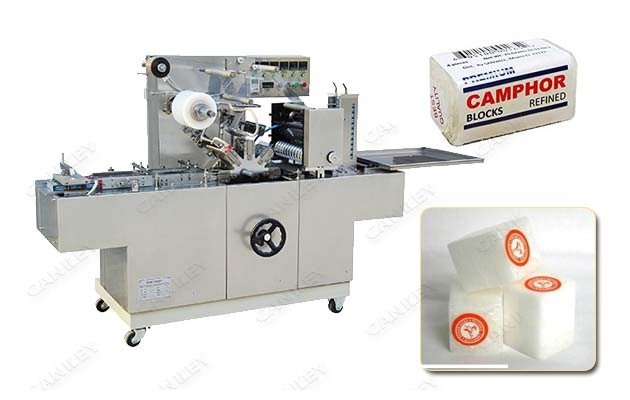 Automatic Camphor Block Packing System|Cellophane Camphor Tablet Wrapper