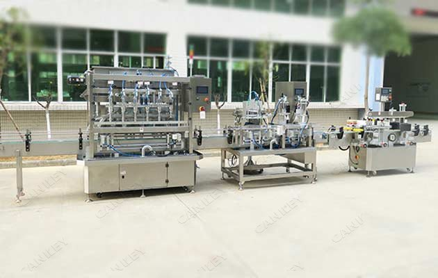 Automatic Antiseptic Bottles Rotary Filling Capping Line
