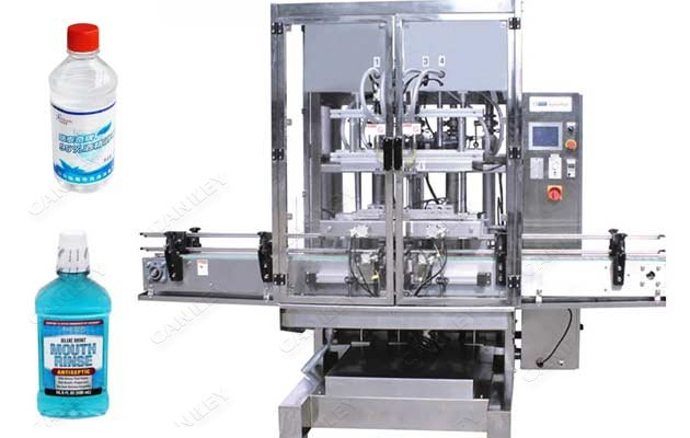 Liquid Disinfectant Filling Equipment Packaging Systems