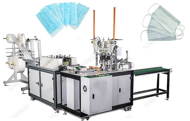 Automatic Disposable Surgical Face Masks Manufacturing Machine Supplier