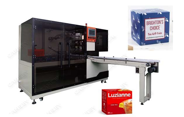 Tea Box Cellophane Over Wrapping Machine For Sale