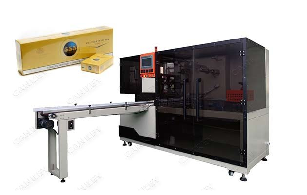 Automatic Cellophane Wrapping Machine for Boxes of Cigarettes LGBZ-400A