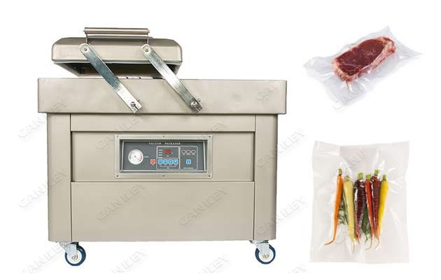 Double Chamber Food Meat Vacuum Packaging Machine