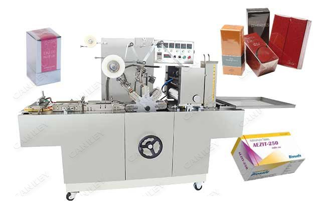 Automatic Cigarette Case Cellophane Wrapping Machine