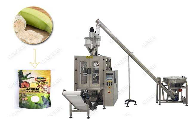 Plantain Banana Powder Corn Flour Packaging Machine For Sale