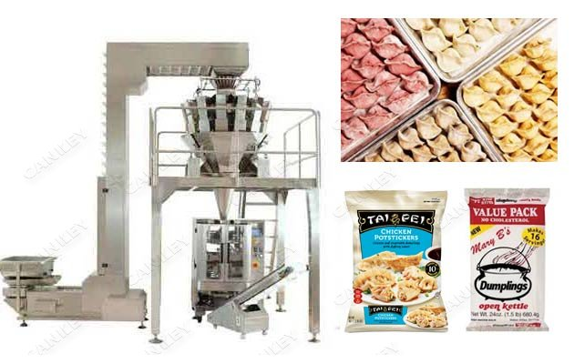 Automatic Weighing Frozen Dumplings Packaging Machinery