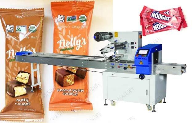 Automatic Nougats Servo Rotary Packing Machine Supplier