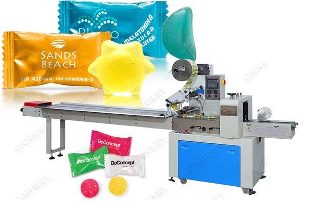 Chinese Sugar Candy Flow Packing Machine Price