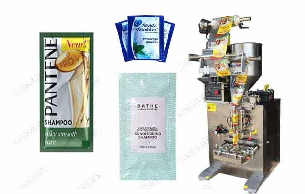 Shampoo Sachet Filling Packing Machine|Sauce Sachets Filling Machine