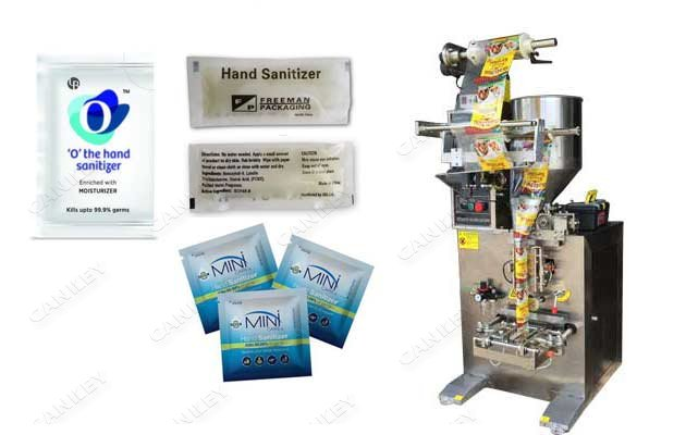 Instant Hand Sanitizer Filling Machine For Sachets