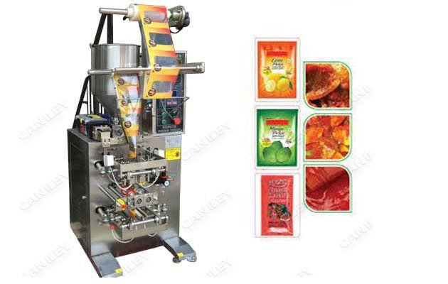 Vertical Sauce Sachet Packaging Filling Machine