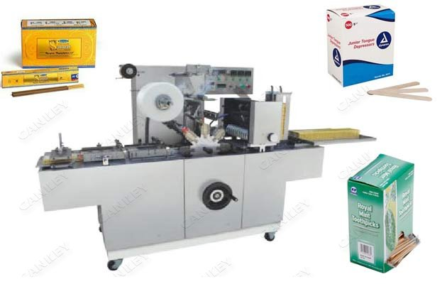 Agarbatti Box Overwrapping Machine|Toothpick Box Packaging Machine