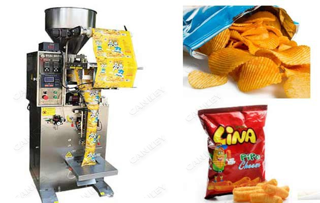 Vertical Potato Banana Chips Snack Packaging Machine Supplier